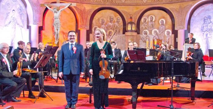 Relacja z koncertu z okazji 100-lecia odzyskania przez Polskę niepodległości