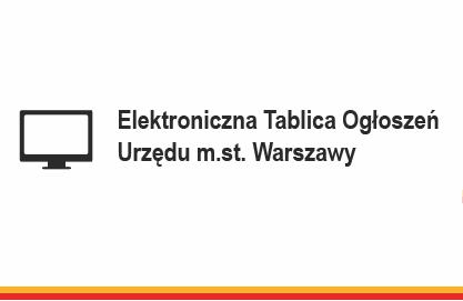 Start Elektronicznej Tablicy Informacyjnej