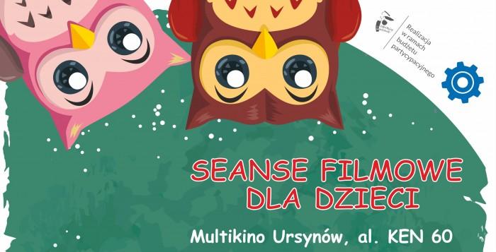 Seanse filmowe dla dzieci