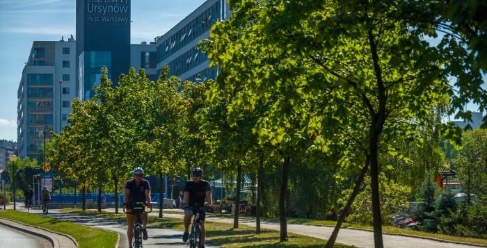 Nowa infrastruktura rowerowa na Ursynowie